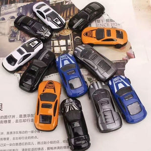 1Set=13Pcs Transport Car Carrier Truck Boys Toy (includes Alloy Metal 12PcsCars+ 1PcsTruck) for Kids Children (Size: 1 Set, Colo
