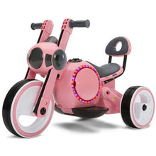 Load image into Gallery viewer, Children's electric car motorcycle tricycle baby can sit 1-3-4 year old baby bicycle toy battery car