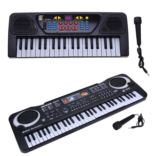 37/61 Keys Digital Music Electronic Keyboard Key Board Electric Piano Education Toy Gift