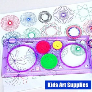 Spiral Geometry Block Drawing Student Learning Drawing Tools Children Toys Creative Stationery