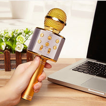 Load image into Gallery viewer, Wireless Bluetooth KTV Karaoke Microphones Player Speaker for iPhone Android Education Music Toys for Children