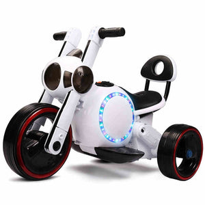 Children's electric car motorcycle tricycle baby can sit 1-3-4 year old baby bicycle toy battery car