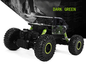 RC Car with Two Battery 4WD 2.4Ghz 1/18 Crawlers Off Road Vehicle Toy Remote Control