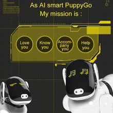 Load image into Gallery viewer, RC Smart Dog Intelligent Robot Dog Kids Toy Intelligent Talking Sing Dance Walking Robot Electronic Safety Pet Christmas Gifts