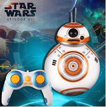 Load image into Gallery viewer, 17cm Star Wars RC 2.4G BB Robot upgrade remote control