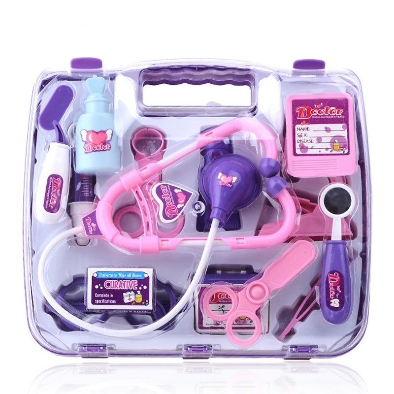 Hot Money, Children Play Puzzle Simulation Medicine Box Set Toys Gift Girl Doctor