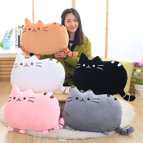 Soft  Pusheen Cat Pillow Kawaii Plush Toy Stuffed Animal Cushion Gift