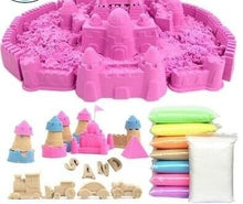 Load image into Gallery viewer, 50G/bag Hot sale dynamic educational Amazing No-mess Indoor Magic Play Sand Children toys Mars space sand