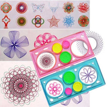 Load image into Gallery viewer, Painting Multi-function Puzzle Spirograph Geometric Ruler Drafting Tools For Students Drawing Toys Children Learning Art Tool