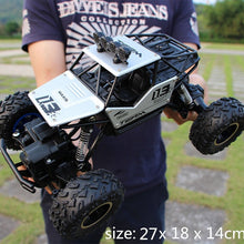 Load image into Gallery viewer, 1:12 4WD RC Cars 2019 Updated Version 2.4G Radio Control RC Cars Buggy High speed Climbing Off-Road Trucks Toys Children Gift