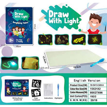 Load image into Gallery viewer, Baby Toys For Children Educational Draw With Light Fun And Developing Toy Magic Draw Best Kids Gifts Fluorescent Writing Board