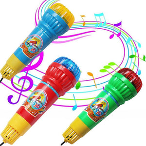 Echo Microphone Mic Voice Changer Toy Gift Birthday Present Kids Party Song musical toys for children