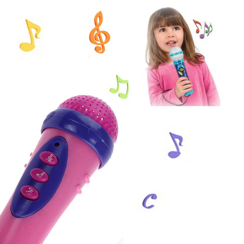 Funny Singing Karaoke Kids Microphone for Children Instrument Music Toy Cute Girls Boys Microfone Infantil Brinquedos Educativo