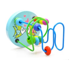 Load image into Gallery viewer, Educational Baby Kids Wooden Around Beads Toy Toddler Infant Intelligence Toys