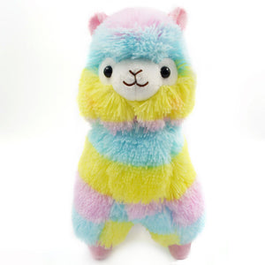 13CM Colorful Kawaii Alpaca Llama Arpakasso Soft Plush Toy Doll Gift Cute Toys