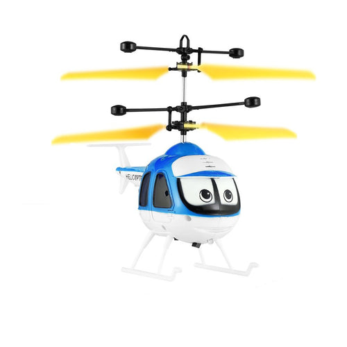 Induction Flying Toys Mini RC Helicopter Cartoon Remote Control Drone Aircraft for Kid Plane Toys Floating Toys Boy Gift