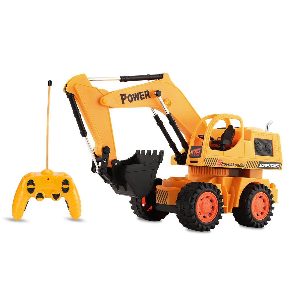 8020RCE Radio Remote Control Stunt Digger RC Construction Excavator Tractor Digger Electric Engineering Vehicles