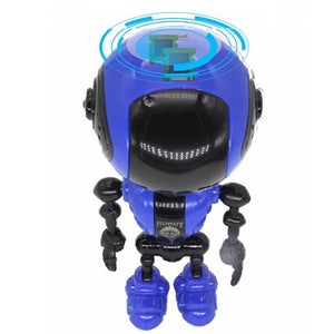 USB Sensing Multi-function Music Smart Mini Alloy Robot Kids Toy Gift