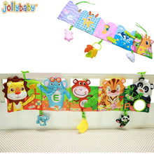 Load image into Gallery viewer, 1pcs Jollybaby Baby bed around and cloth book with animal model baby lovely toys for baby bed