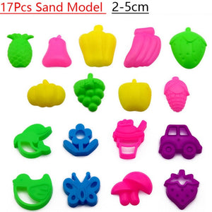 300g/Bag Magic Sand Toys Super Colored Dynamic Sand Indoor Arena Play Sand Educational Clay Kids Toys for Children