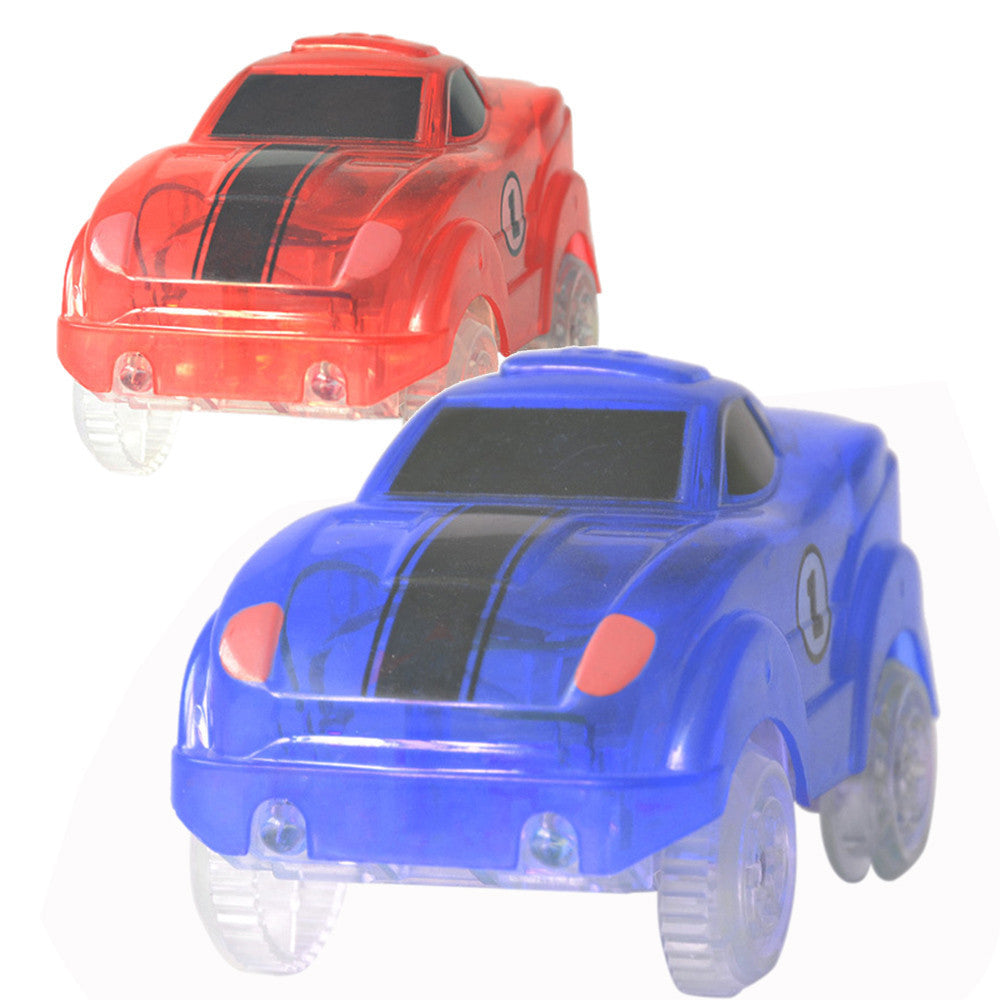 Kids Baby Musical Electric Racing Car Toy LED Flashing Automatic Car Toys Gift