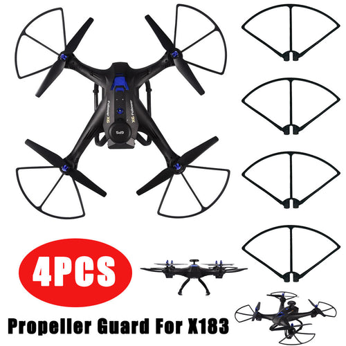 4PCSAnti-Impact Propeller Guard Blades Professional Frame Protect For X183 Drone