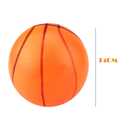 14CM Pvc Inflatable Basketball  Inflatable Beach Toys Children Toy Ball