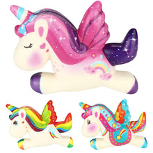 Load image into Gallery viewer, Cute Unicorn Squishy Slow Rising Cartoon Doll Cream Scented  Stress Relief Toy