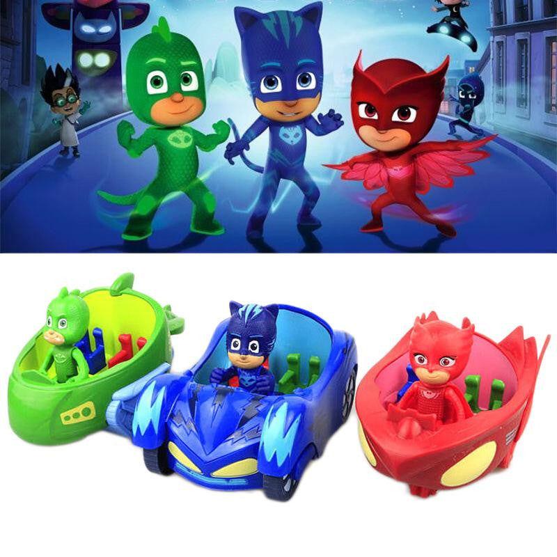 PJ Masks Cartoon Toy Car