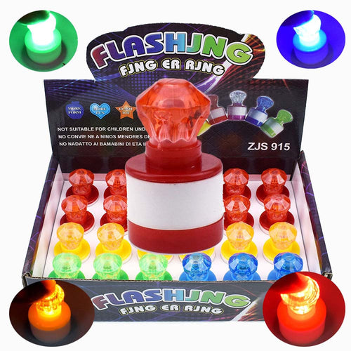 Funny Colorful LED Light Up Seal Kids Toy Children Party Favors Glow Spoof Toys
