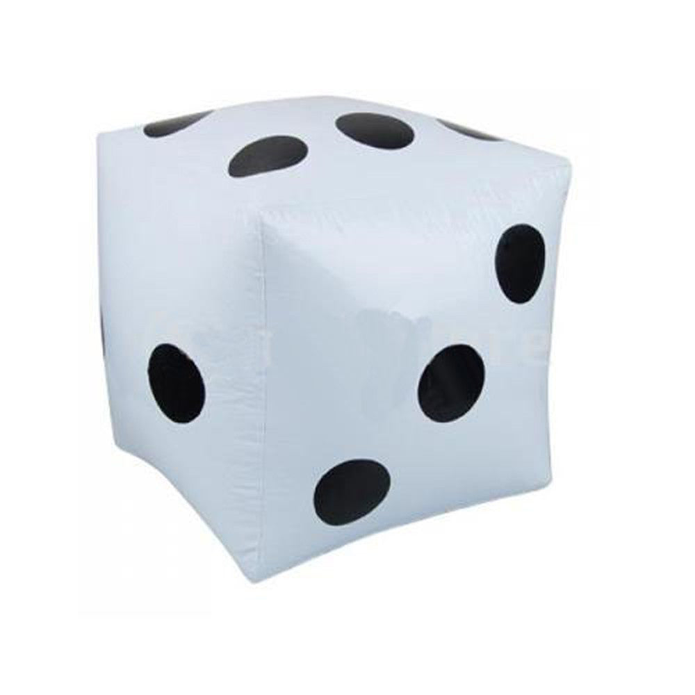 32cm Jumbo Large Inflatable Dice Dot Diagonal Giant Toy Party Air