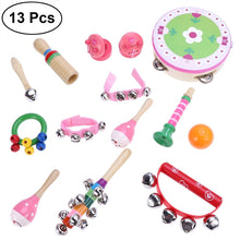 Load image into Gallery viewer, 13pcs Kids Musical Instruments Percussion Toy Rhythm Band Set Preschool Educational Musical Toys