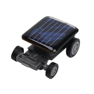 High Quality Smallest Mini Car Solar Power Toy Car Racer Educational Gadget Children Kid's Toys
