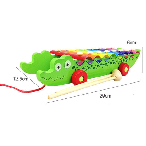 Kacakid New Baby Kids Wood Toy instrument Toys Infant Cartoon Playing Type Educational Musical Instruments Accessories Toy