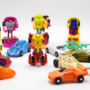 The Toy Robot Toy Car Deformation Deformation of Children Toy Toy Boy Toy Fun Egg