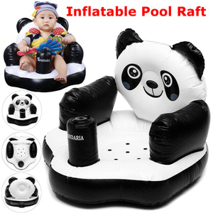 Inflatable Panda Float Pool Children Swimming Toys Ring Water Toy Kids Swimline