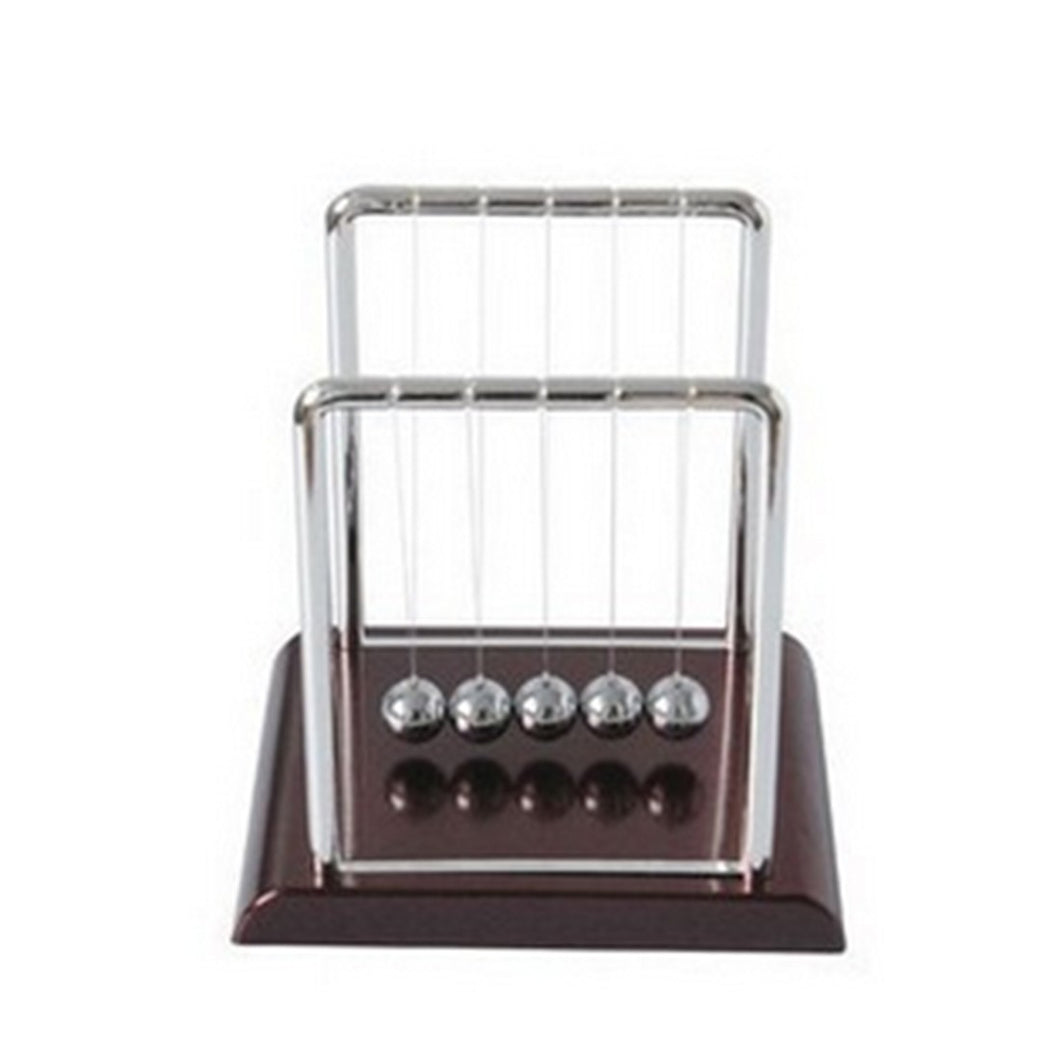 Newton Cradle Balance Ball Science Puzzle Fun Desk Toy S