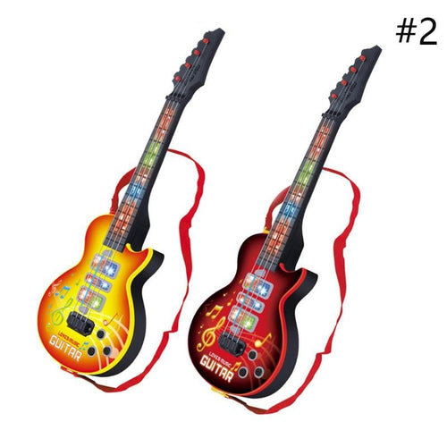 Electric Guitar Kids Musical Instruments Toy Music Educational Toy
