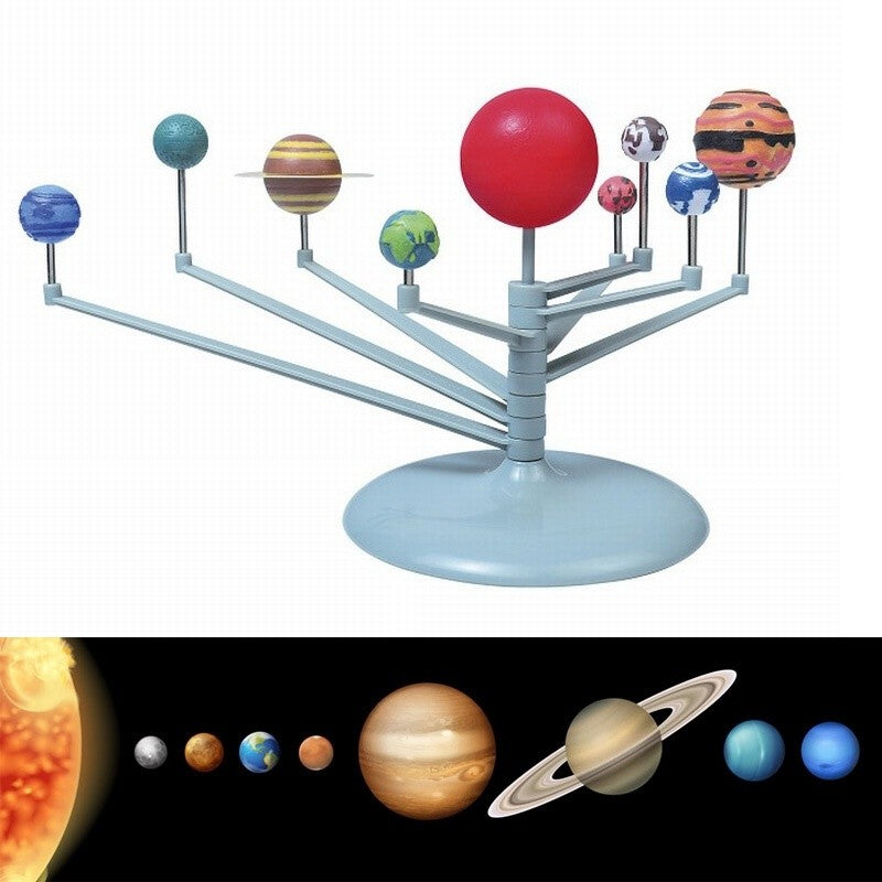 Nine Planets Model Puzzle Assemble Planets Children Science and Education DIY Toys