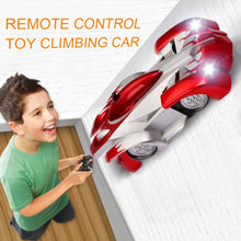 Load image into Gallery viewer, 1PCs RC car Remote Control Climbing RC Car with LED Lights 360 Degree Rotating Stunt Toys Machine Wall RC CAR Boy Christmas gift