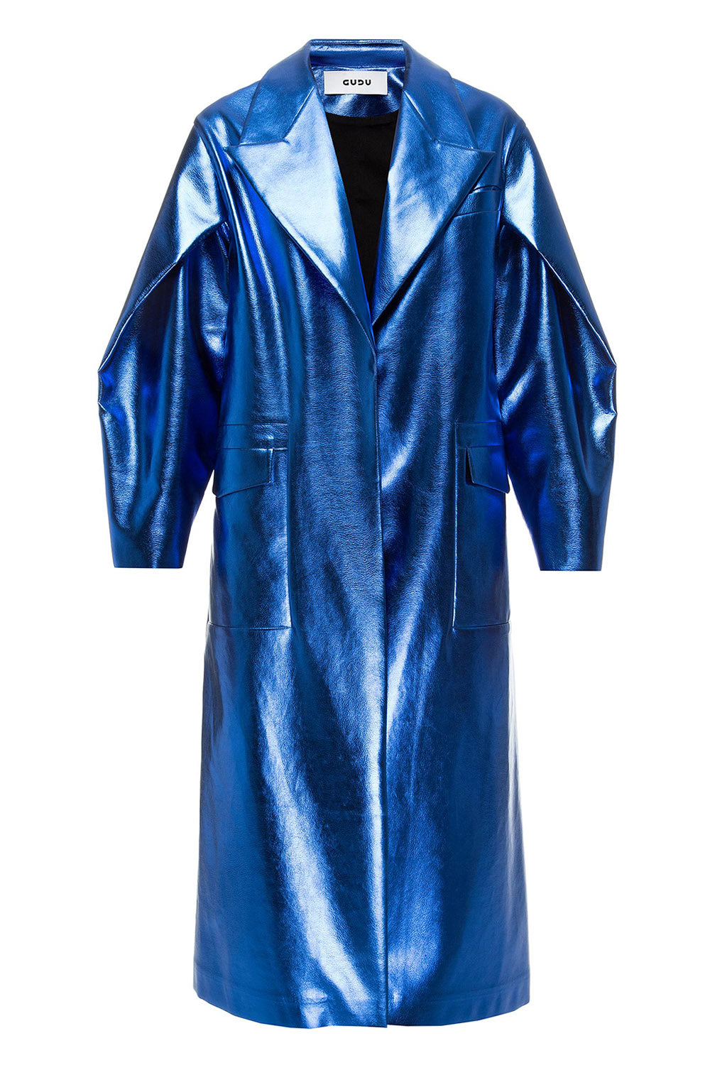 Electric blue coat