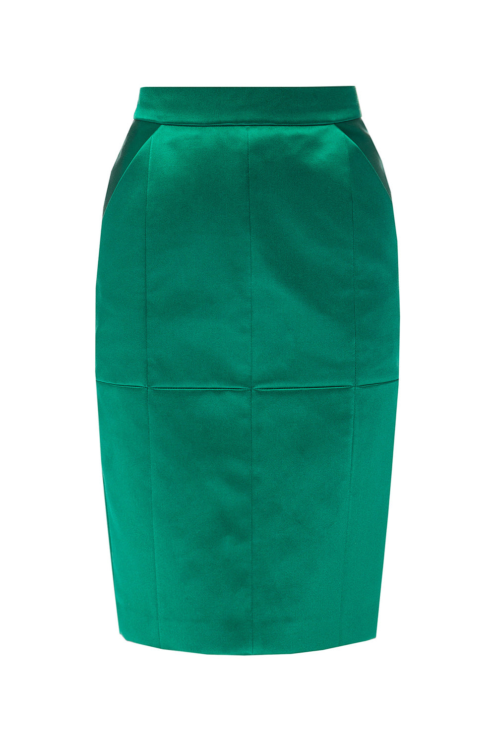 Pencil skirt with pockets
