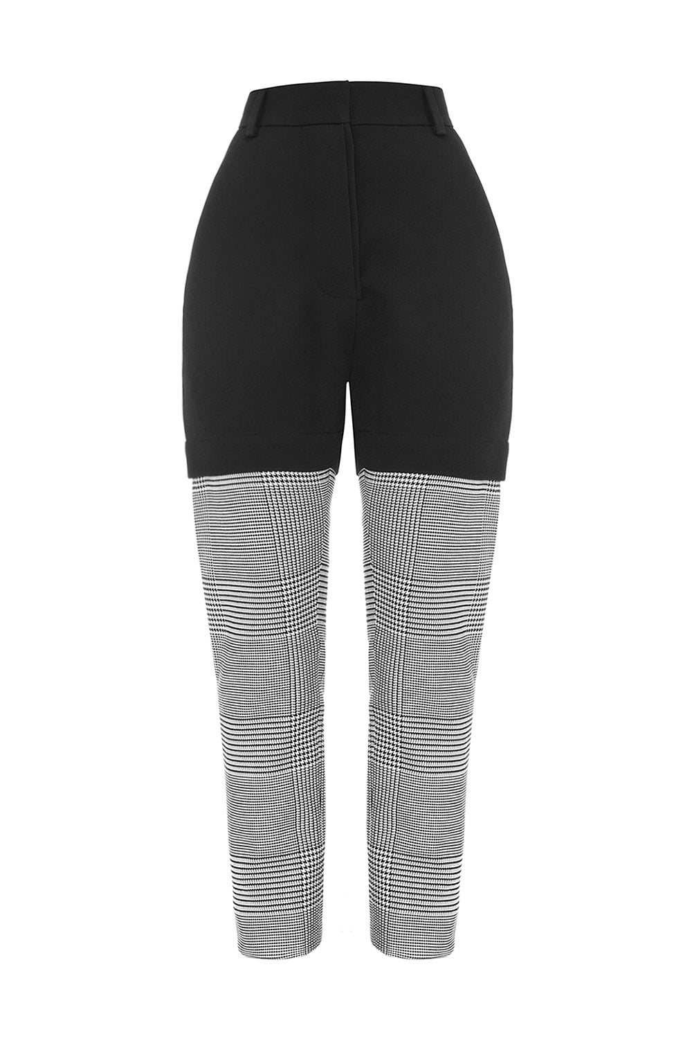 Black and Grey Pants