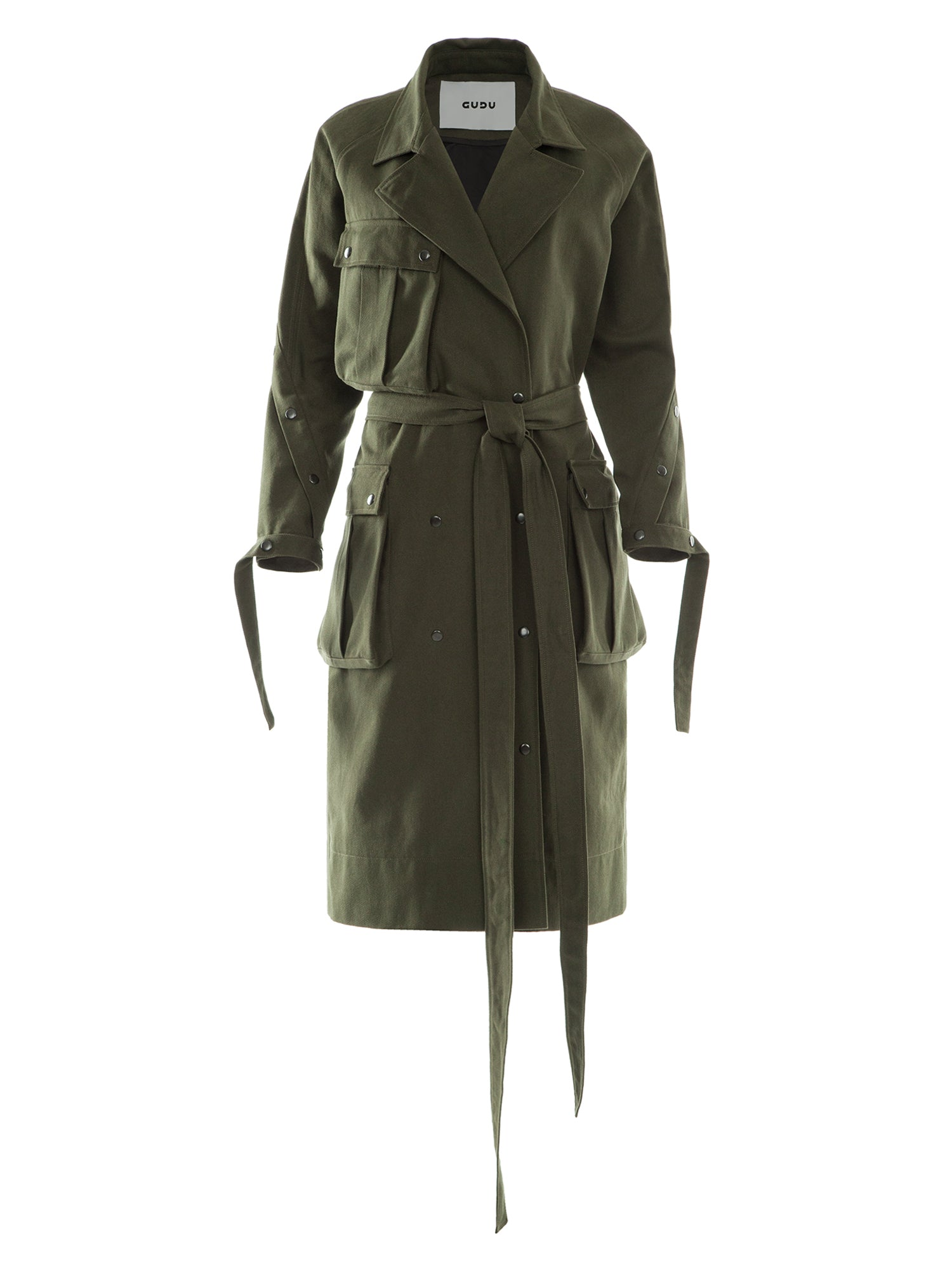 Trench Coat with Pocket