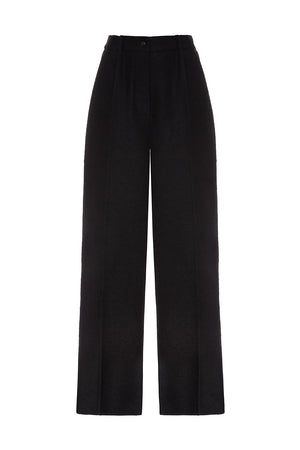 Pleated Palazzo Trousers