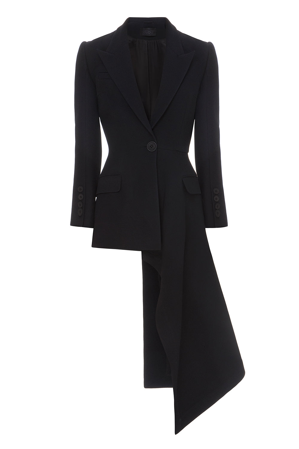 Asymmetric Tailed Blazer