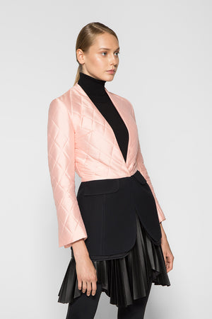 TRANSFORMED QUILTED BLAZER