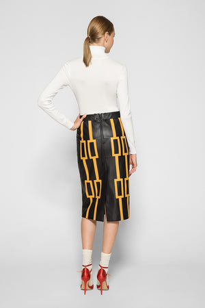 ARTDECO PATCHWORK SKIRT
