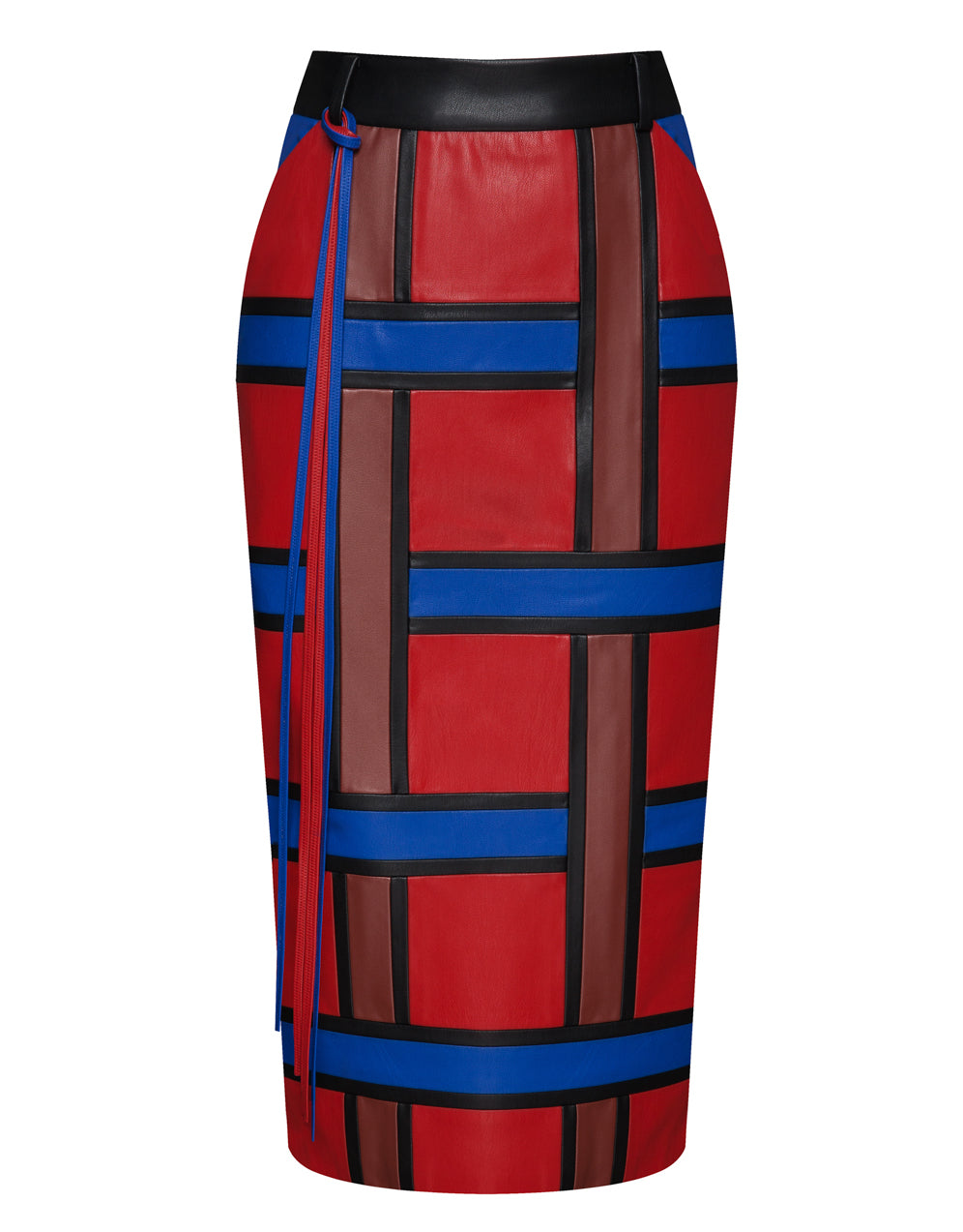 MONDRIAN PATCHWORK SKIRT