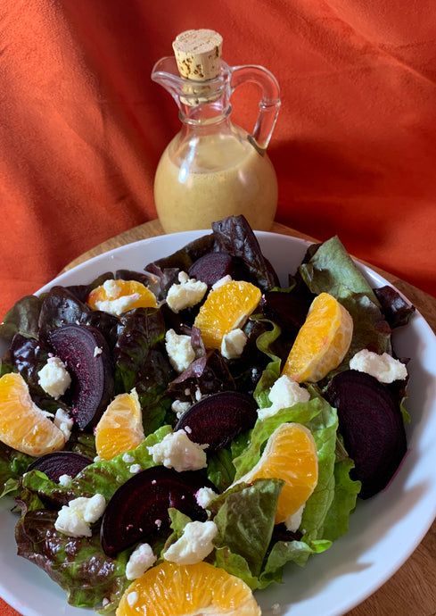 Spiced Orange Vinaigrette